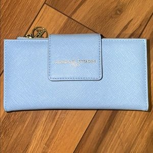 Adrienne Vittadini baby blue wallet